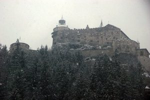 To secure the city, three major castles were extended-The Hohensalzburg Fortress, Hohenwerfen castle and the Petersberg ob Friesach.