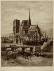Notre-Dame at the end of the 19th century