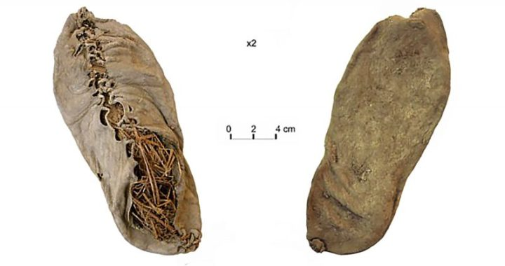 5,500-year-old leather shoe is oldest ever discovered