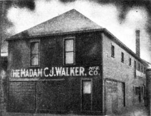 C. J. Walker Manufacturing Company, Indianapolis, 1911