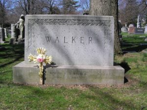 The grave of Madam C. J. Walker