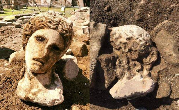 2,000-Year-Old Sculpture Unearthed in Rome