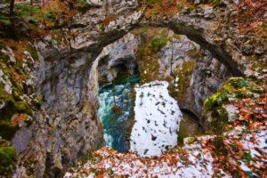 Rakek, Slovenia: Small natural bridge at Rakek, Slovenia.