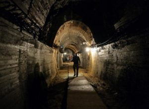 The tunnels are really big: 5 m high and 5.6 m wide