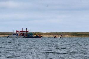 Salvage operation at Cape Pogue will bring up plane that has been buried for 73 years.