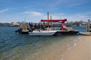 Barge owned by Erik Gilley will be used for salvage effort.
