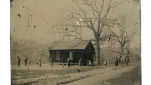 A rare coin dealer in California has concluded that a grainy image of legendary gunman Billy the Kid playing croquet is the real thing and could be worth as much as $5 million.