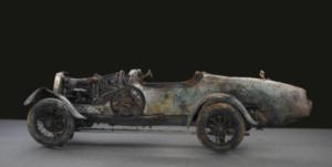 Vintage 1925 Bugatti Type 22 Brescia Roadster.