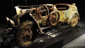 When WWI was over, Europe began the task of rebuilding itself and racing resumed. Bugatti was back in business, and so was the Type 13