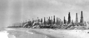 Huntington Beach six years after the Huntington A-1 first produced oil in 1920.
