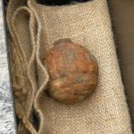 The grenade is believed to have been dug up accidentally in France