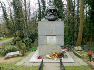 Karl Marx grave, East Cemetery.