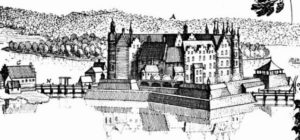 Schwerin Castle in 1653.