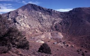 Cerro Gordo Mines and ghost town