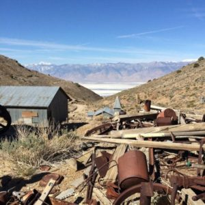 Cerro Gordo Ghost Town.