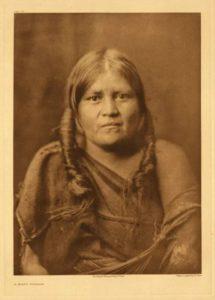 Hopi woman, 1922.