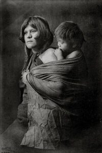 Hopi mother, 1921