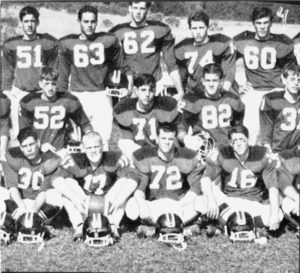 Herbert Mullin, who would later become a notorious serial killer, was a varsity football player in high school and voted most likely to succeed by his graduating class.