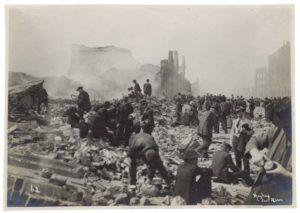 San Francisco Earthquake, 1906.