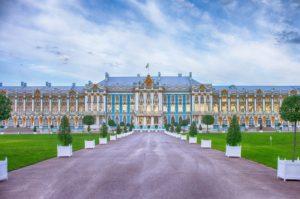 Catherine Palace at Tsarskoye Selo.