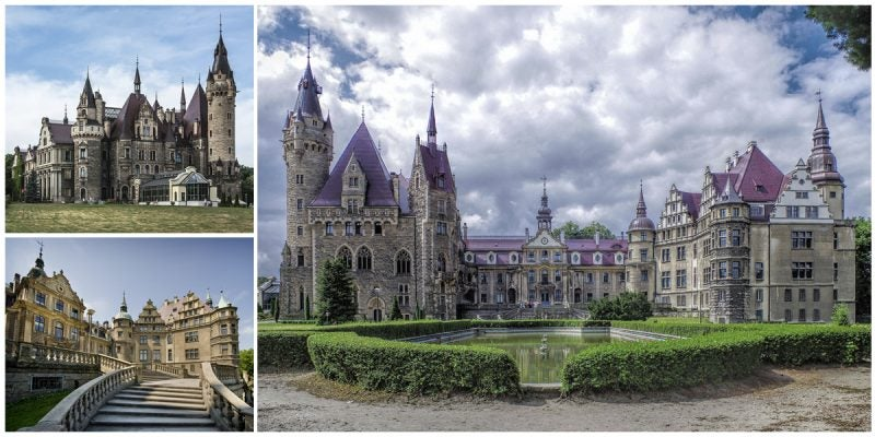 The Moszna Castle: One of the World's Most Beautiful Castles