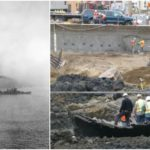 A huge portion of San Francisco, including the Financial District, sits above dozens of 19th century ships buried underground