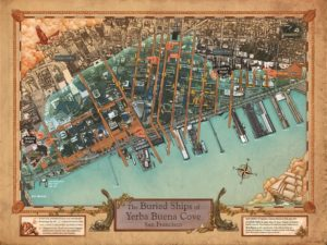 The Buried Ships of Yerba Buena Cove by Michael Warner et al. (San Francisco Maritime National Historical Park