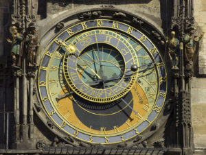 Astronomical dial.