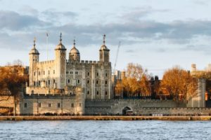 Tower of London at sunset, England, Famous Place, International Landmark