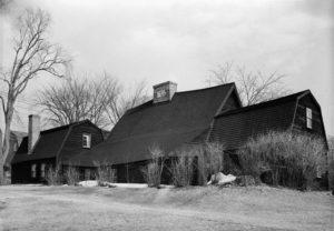 Fairbanks House, photo taken in 1940.