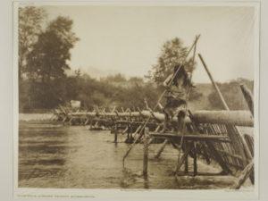 Fish-Weir Across Trinity River–Hupa