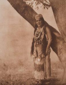 Hupa Woman in Primitive Costume