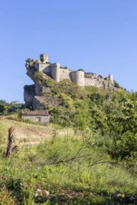 Roccascalegna in Abruzzi, Italy.