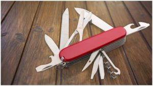 """The term """"Swiss Army knife"""" was coined by American soldiers after WWII."""