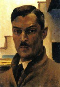 Victor Arnautoff, self-portrait, 1941.