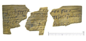 More than 100 fragments of the wooden tablet have been preserved and they contain fascinating information about Roman life. This tablet is a letter to a friend. Tablets of this sort were used for everyday correspondence and even shopping lists or party invitations