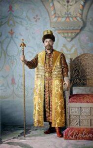 Tsar Nicholas II. Colorization by Olga Shirnina.