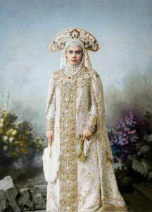 Grand Duchess Ksenia Alexandrovna.