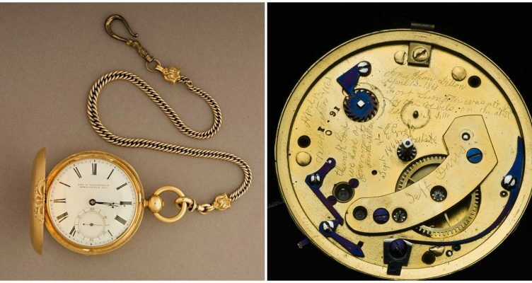 Lincoln's Pocket Watch Reveals Long-Hidden Message