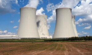 Nuclear cooling towers, 2010.