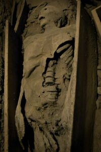 The 'crusader' mummy, St. Michan's Church, Dublin