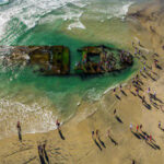 Sunken 'Sin Ship' Wreckage Surfaced From the Ocean Depths After Being Lost in 1936