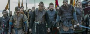 According to the Viking tales, Ragnar's sons formed the Viking Great Army to seek revenge on the murderer of their father - Ragnar Lothbrok
