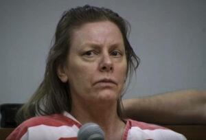 Aileen Wuornos in court in 1992.
