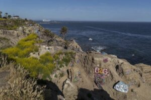 Sunken City in San Pedro has been fenced off since the late 1980s, but that hasn't kept people out