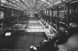 Sutro baths during the 1890s.
