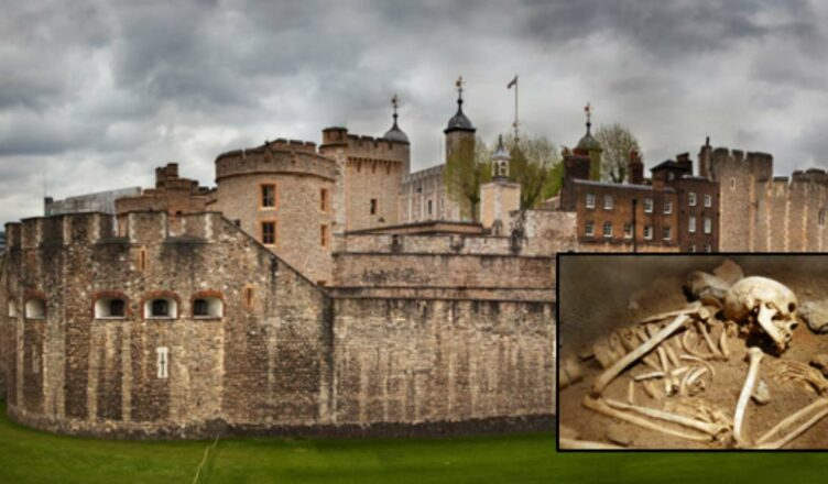 Skeletons of Woman and Child Found Beneath Tower Of London