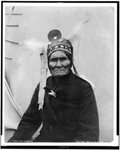 Geronimo in 1901