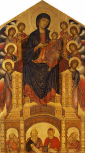 Cimabue – Maestà di Santa Trinita