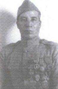 Image of World War I hero Marcelino Serna